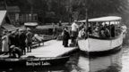 Boat trip on Rudyard Lake, 1925