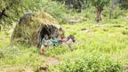 The Hadza people live near Lake Eyasi in northern Tanzania