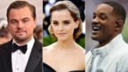 Leonardo DiCaprio, Emma Watson and Will Smith