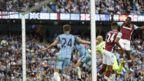 West Ham's Antonio scores