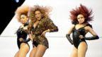 Beyonce performs onstage