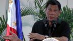 Philippines President Rodrigo Duterte speaks in Davao (30 Sept 2016)
