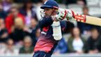 England's Alex Hales bats