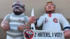 Inflatables protesting against Joe Arpaio and Donald Trump, Arizona, 22 Odctober 2016