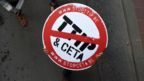 A Ceta protester's placard in Brussels, 20 October