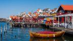 Sweden, Fjällbacka, boat