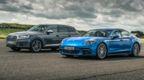 Top Gear drag races: Audi SQ7 vs Porsche Panamera