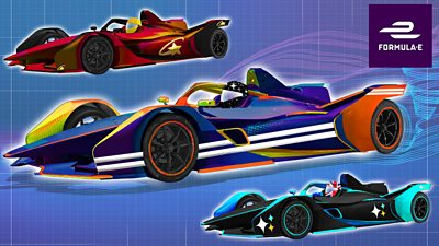 Customize Your Own Car >> Customise Your Own Formula E Car Cbbc Bbc