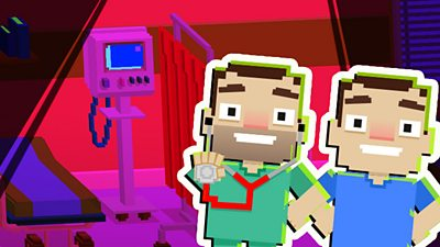 Hospital Games - Operation Ouch! Clonewards Game - CBBC - BBC