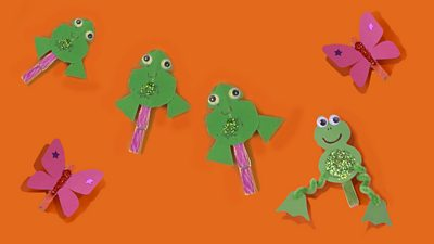 How to Make Fantastic Flying Fish Paper Spinners - One Time Through | 225x400
