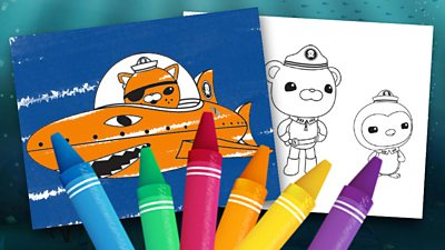 Print out colour in sheet A to Z Alphablocks - CBeebies - BBC