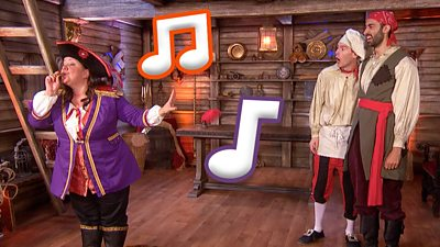Swashbuckle Party Songs - CBeebies - BBC