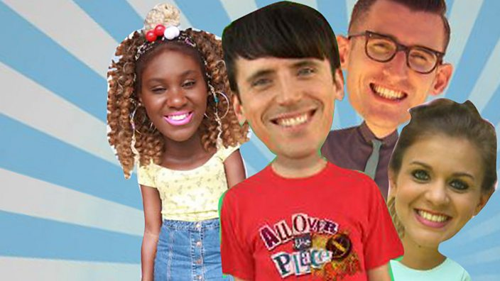 All Over The Place Quizzes - CBBC - BBC