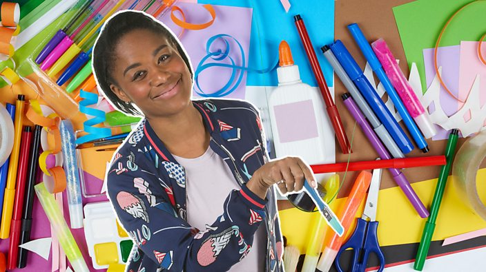 Arts And Crafts Activities For Kids Cbeebies Bbc
