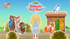 CBeebies Goldilocks and the Three Bears - CBeebies Goldilocks and the Three Bears
