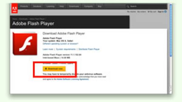 Flash download for macbook pro
