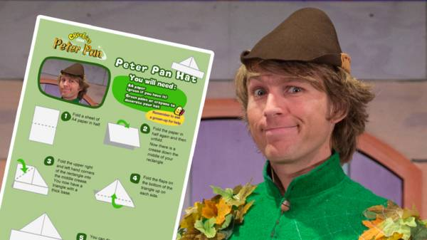 DIY Peter Pan Hat (no Sew!) - YouTube   337x600