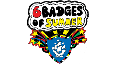 6 Badges of Summer logo.