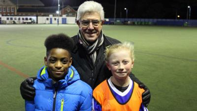 All Over The Workplace - Chitua and Freya set their sights on being professional footballers