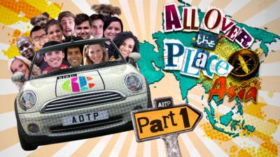 All Over the Place Asia - Which All Over the Place presenter are you?