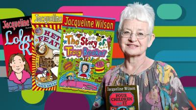 CBBC Book Club - Amazing Authors - Jacqueline Wilson
