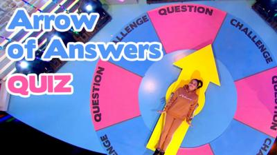 Saturday Mash-Up! - Arrow of Answers: The Quiz