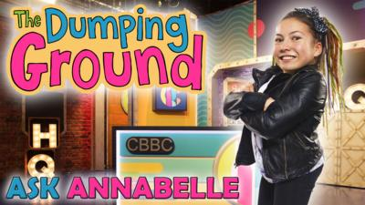 CBBC HQ - Annabelle Davies answers your questions