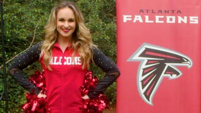 BBC Sport - Learn a dance routine with NFL cheerleaders!