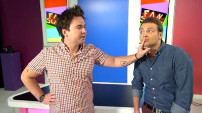 Sam & Mark's Big Friday Wind-Up  - Fan Slam - The Vamps