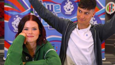 Blue Peter - Who will win the debate?