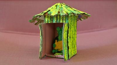 Blue Peter - Post of the Week: Bamboo Hut