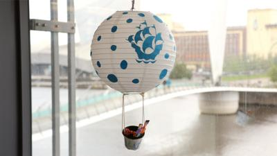 Blue Peter - Post of the Week: BP Hot Air Balloon