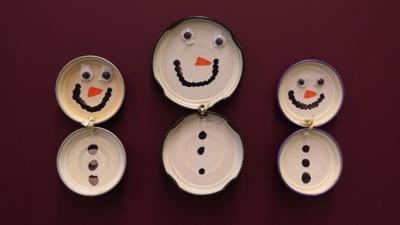Blue Peter - Post of the Week: Lid snowmen