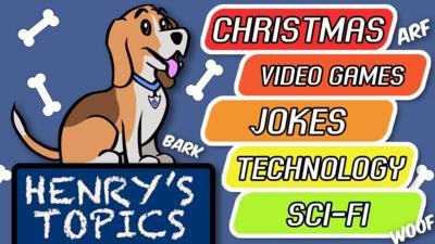This week's topics: Christmas Video Games Jokes Technology Sci-fi.