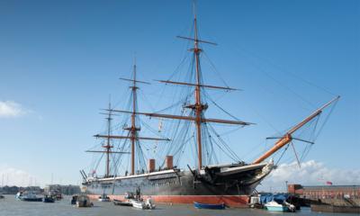 Historic naval ship