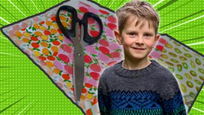 Blue Peter - Frankie's beeswax wraps