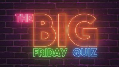 CBBC HQ - Big Friday Quiz