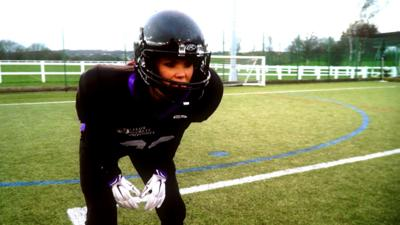 Blue Peter - Lindsey takes on American Football