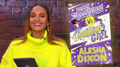 CBBC Book Club - Alesha Dixon answers your questions