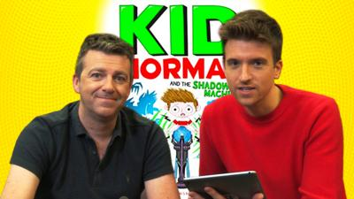 CBBC Book Club - Greg James answers your questions