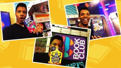 CBBC Book Club - Book Club Selfies