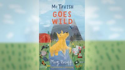 "CBBC Book Club Book Of the Month ""McTavish Goes Wild"" book cover"