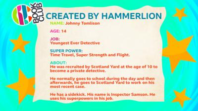 CBBC Book Club Character Description