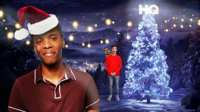 CBBC HQ - Christmas Lights
