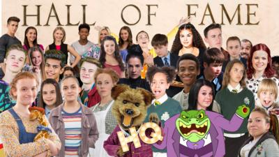 CBBC HQ - CBBC Hall Of Fame