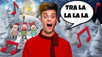 CBBC HQ - Christmas Sing-along