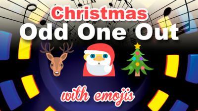 CBBC Official Chart Show - Quiz: Christmas emoji odd one out