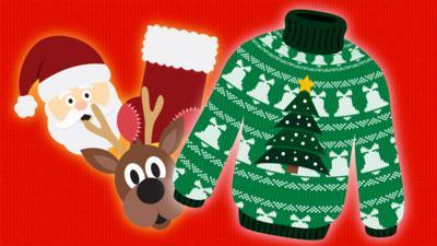 CBBC - Create a Christmas jumper