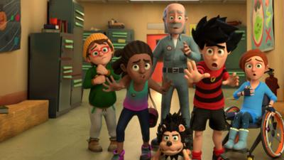 Dennis and Gnasher Unleashed - Spot the Difference: Dennis and Gnasher