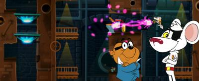 Danger Mouse game screenshot
